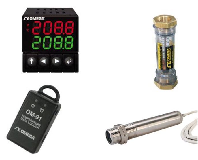 e絡盟發售Omega全系列感測和過程式控制制產品