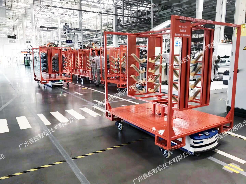 浅谈AGV小车的市场发展及其导航和传感器技术应用