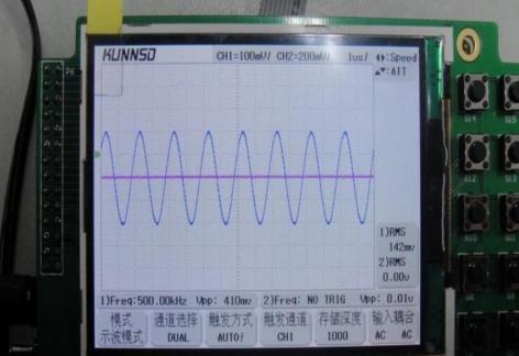 基于FPGA的双通道示波器设计方案