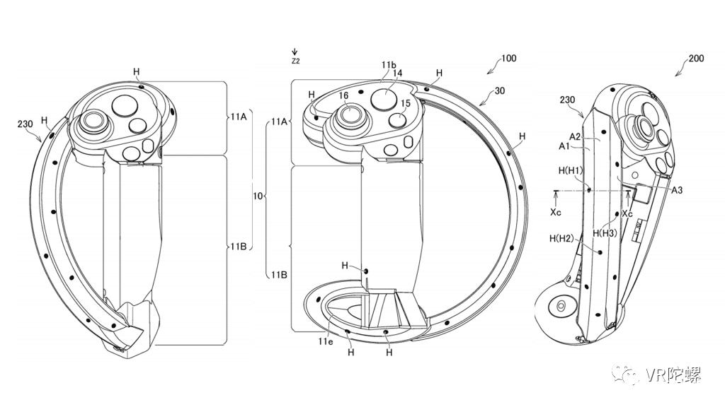 索尼全新的PS VR控制器曝光,可实现Index控制器中单个手指追踪技术