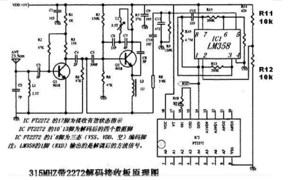 无线遥控器的构成和匹配方法的详细资料说明
