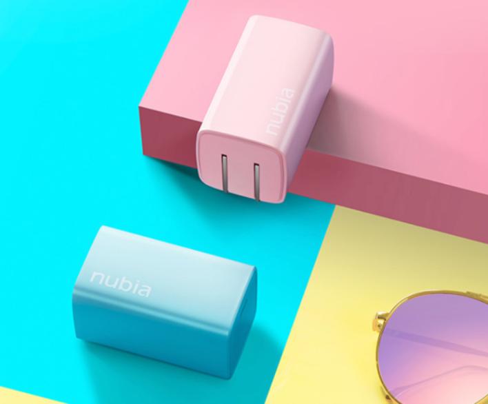 努比亚65W氮化镓Candy多彩系列充电器正式开售