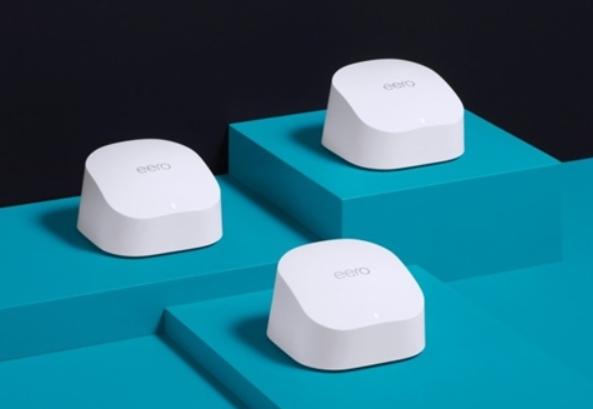 亚马逊发布WiFi 6 + Mesh 加持无线路由器,最远距离可达600米