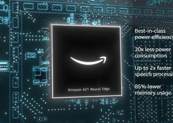 Amazon发布新一代的定制芯片——AZ1神经边缘处理器
