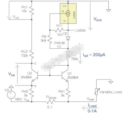 使用分立元件的电路来进行电流监控设计