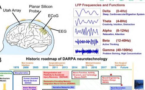 最新的植入式神經電極陣列器件與材料研究資料