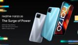 Realme推出了其最新的Narzo 20系列