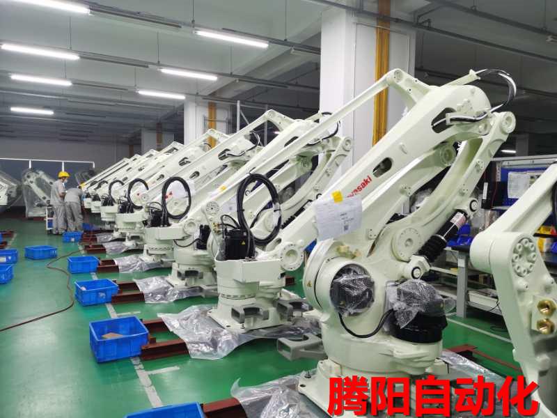 机器人码垛机生产线的组成以及周边设备的介绍