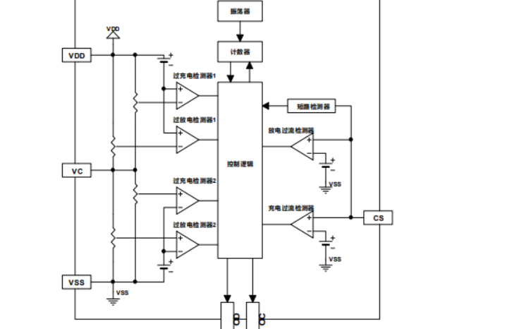 TC2120双节锂电池保护芯片的数据手册免费下载