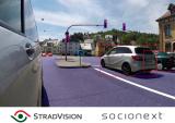 StradVision携Socionext 共同开发ADAS解决方案
