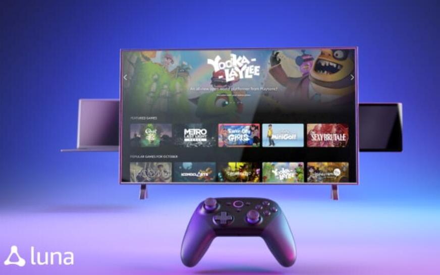 亚马逊推出云游戏Luna 与微软、索尼和谷歌争夺游戏市场