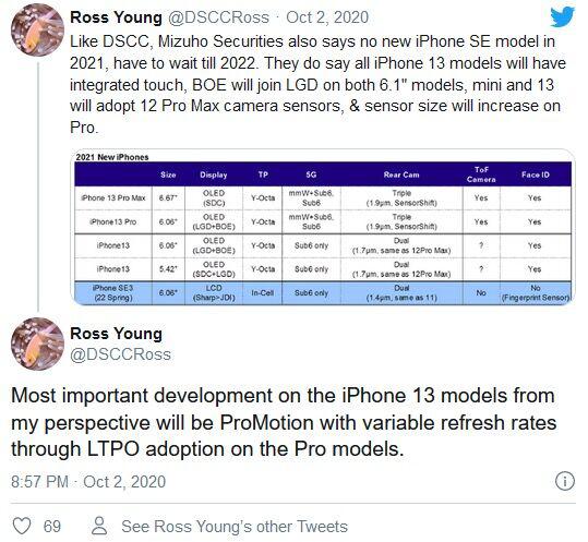 iPhone 12還未發布 iPhone 13便已遭到曝光