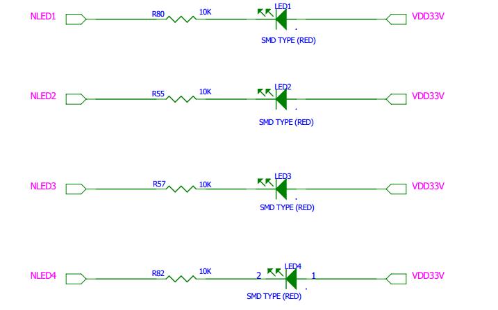 LED裸机驱动电路图设计及编写汇编代码