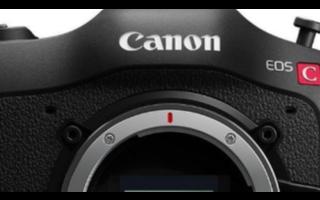 佳能EOS C70将是电影EOS阵容中的第一个摄像头