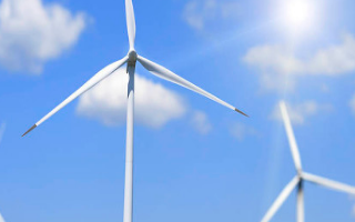 风力涡轮机可持续的能源解决方案