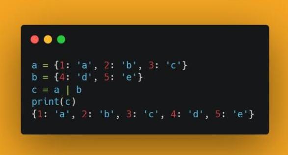 四个有趣的关于Python 3.9版本新特性