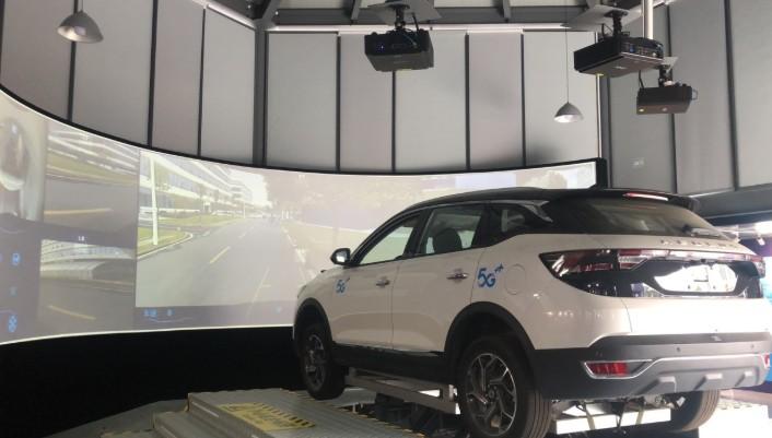 中国移动与东风集团联合打造的5g智能远程驾驶座舱