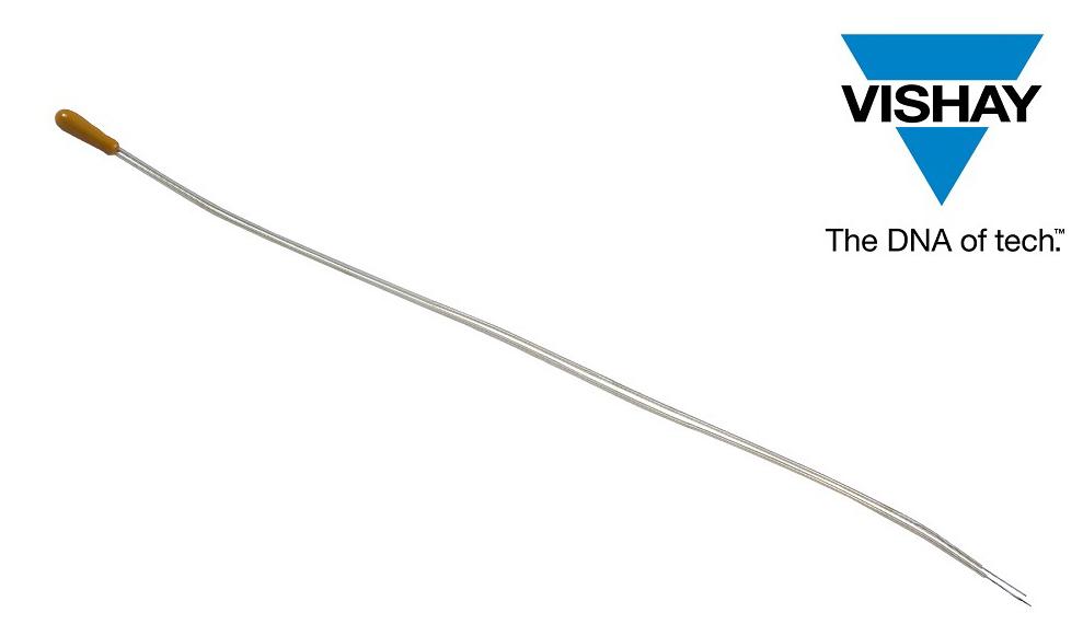 Vishay推出NTC热敏电阻,采用加长PEEK绝缘镍铁引线实现快速、高精度测量