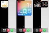 Apple首次在iOS设备的主屏幕上带来了对小部件的支持