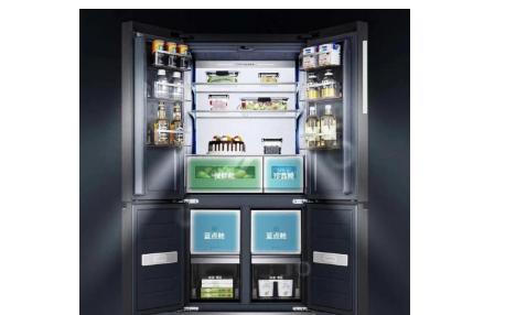 TCL X10養生艙冰箱亮相,有顏又有品的英式管家