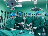 全球首例5G+国产原研手术机器人辅助泌尿外科手术