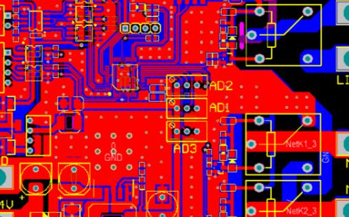 STM8S207C6工業電機控制板電路設計方案的Altium Designer 設計