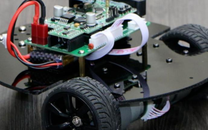 基于stm32电磁型自动寻迹智能小车的设计,智能寻迹基于自动引导机器人系统