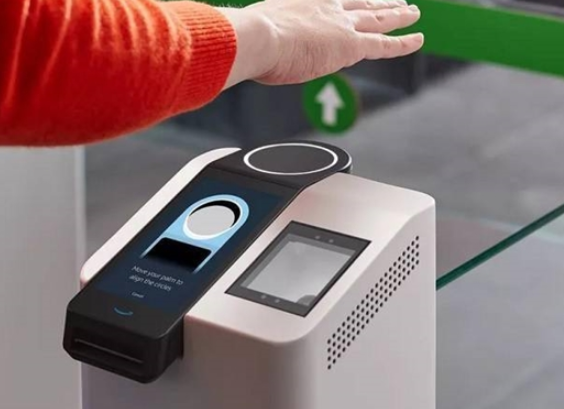 亚马逊宣布推出Amazon One手掌支付系统,挥下手就能完成支付