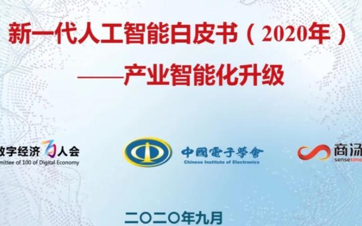 新一代人工智能白皮书(2020年)正式发布