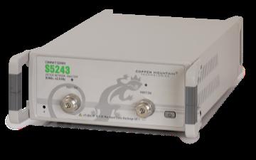 CMT推出便携式矢量网络分析仪—S5243:覆盖...