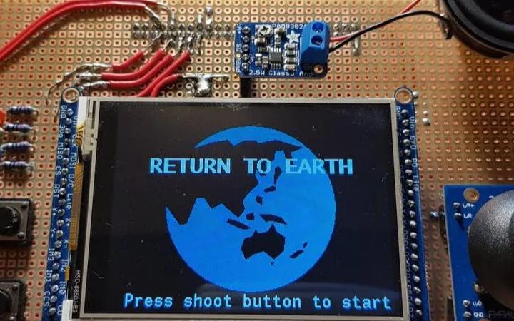 如何做一部基于STM32F4的手持式游戏机