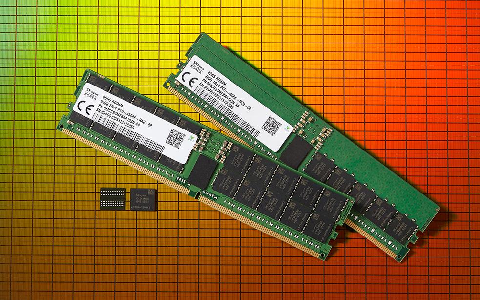 SK海力士首推DDR5內存,容量可達256GB