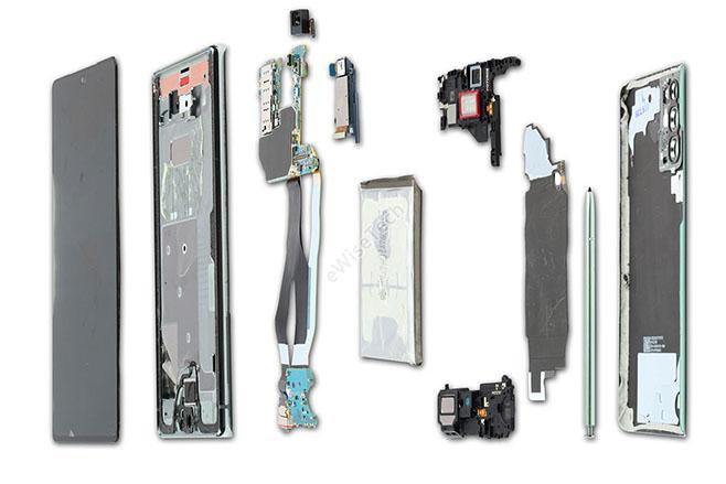 三星Galaxy Note 20怎么样?拆解评测5G手机高端旗舰