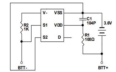 DW06K二合一锂电池保护芯片的数据手册免费下载