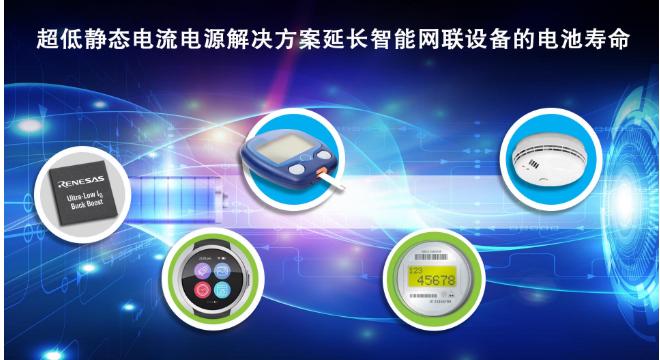 瑞薩電子推出具備超低靜態電流的升降壓DC/DC轉換器