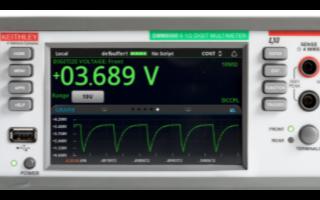 DMM6500應用于自動測試系統中的特點優勢分析