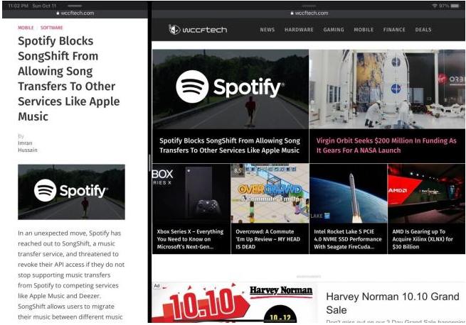 Chrome浏览器将在iPad版进行更新,已实现多个窗口的功能