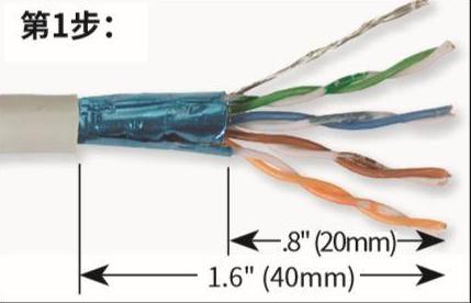 以超五类、六类水晶头为例子,如何快速进行组装网线和水晶头
