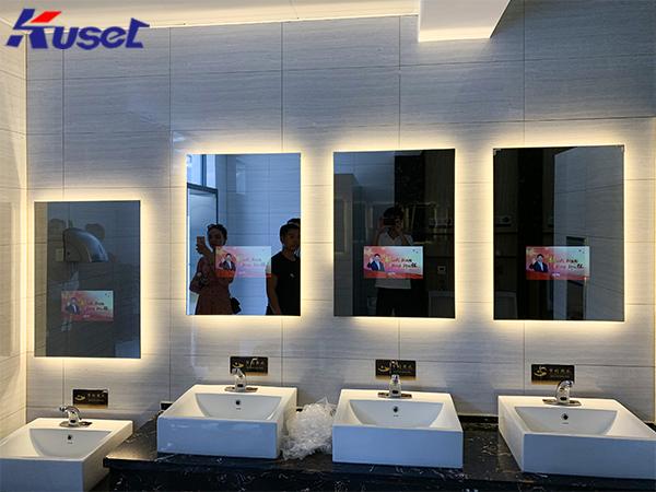 智能设备领域中的新产物,智能镜子显示屏问世