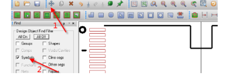 Allegro软件中单个元器件的旋转方法