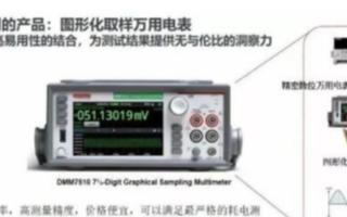 利用吉时利万用表DMM7510实现降低智能设备的功耗