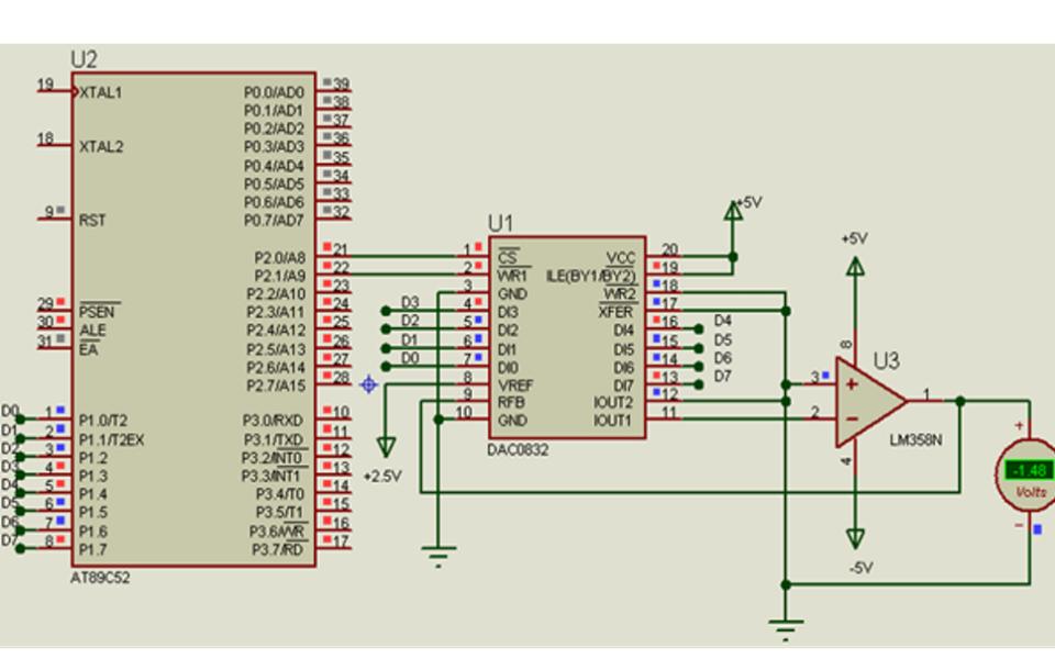 AT89S51单片机与ADC和DAC接口的详细资料概述