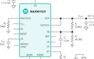 降压型电源模块MAXM17537的特性及应用范围