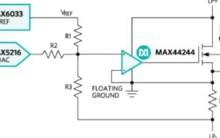 超高精度运算放大器MAX44248的特点特性及应...