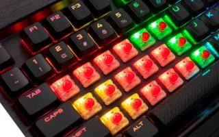 海盗船的K70机械键盘以最低价出售