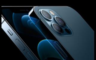 iPhone 12 Pro和iPhone 12 Pro Max脱颖而出,不仅是因为它们的尺寸