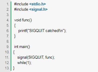Linux操作系统编程讲解:信号捕捉