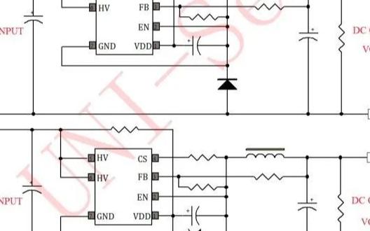 应用于电动摩托/自行车控制器上的友恩半导体U61...