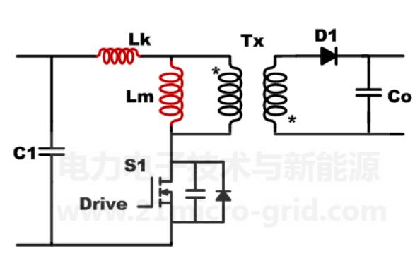 开关电源主电路拓扑反激分析与设计
