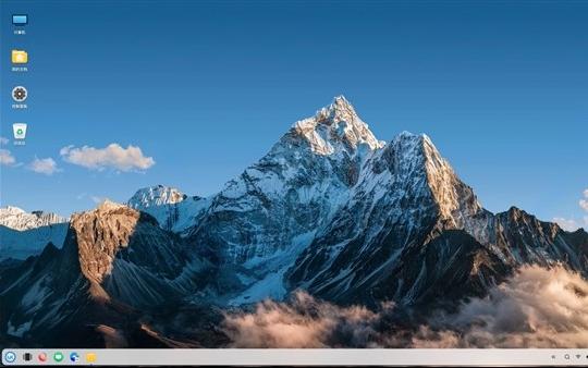 优麒麟20.10 VS Windows 10:圆润角度UI元素处处可见